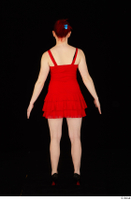 Vanessa Shelby red dress standing whole body 0005.jpg